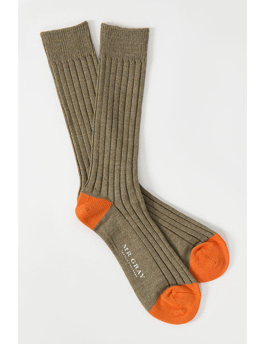 Basic Melange Sock