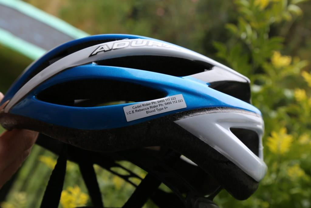 Bike Helmet ID, Motor Bike Helmet ID, Bike Identification