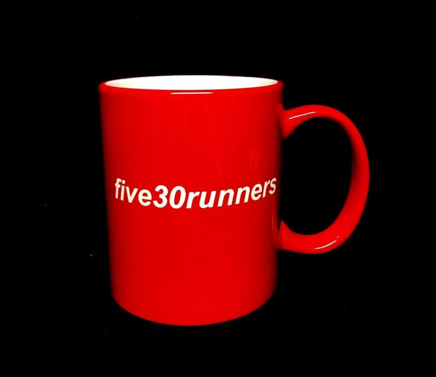 Five30runners laser engraved mugs