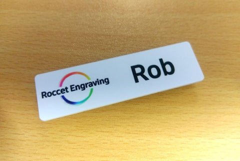 Name badges - with logo