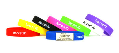 Roccet Slim Wristbands - Adults & Kids