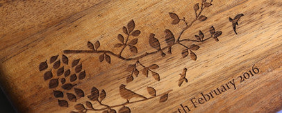 Engraved boards