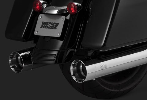Vance and Hines Oversized 450 Titan Slip-On's for Harley-Davidson Touring Models-Chrome