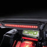 Ciro 3D FCenter Brake Light for Tour Pak-Available in Black and Chrome