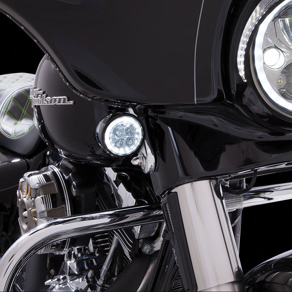 Harley Boss Hawg: Ciro 3D Fang LED Signal Light Inserts