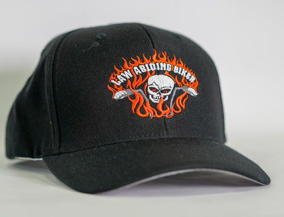 Support Ball Cap/Hat-All Black