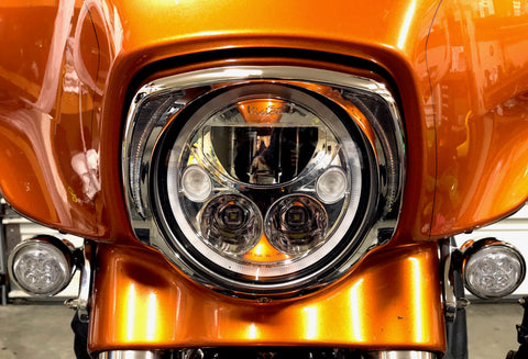 "Vision X XMC LED Headlight (7"" & 5.75"")-Touring & Non-Touring Models"