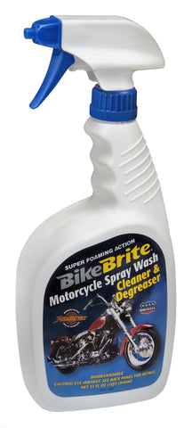 "Bike Brite ""Motorcycle Spray Wash""-Cleaner & Degreaser-Wet Wash"