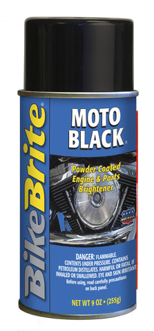 "Bike Brite ""Moto Black""-Black Parts Cleaner & Protectant"