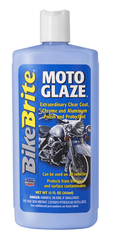 "Bike Brite ""Moto Glaze""-Chrome & Aluminum Polish & Protectant"