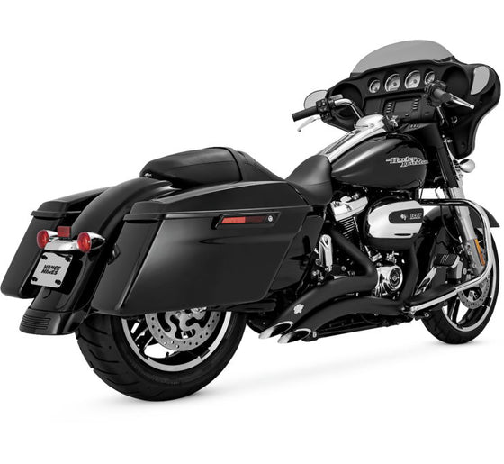 Vance & Hines Big Radius 2-into-2 for Harley, 2017-Current FLH, FLT