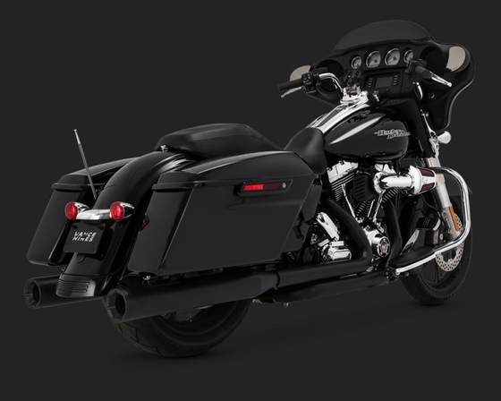 Vance and Hines Eliminator 400 for 2014-2016 Harley Davidson Touring-Black