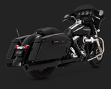 Vance and Hines Eliminator 400 for 1995-2016 Harley Davidson Touring-Black