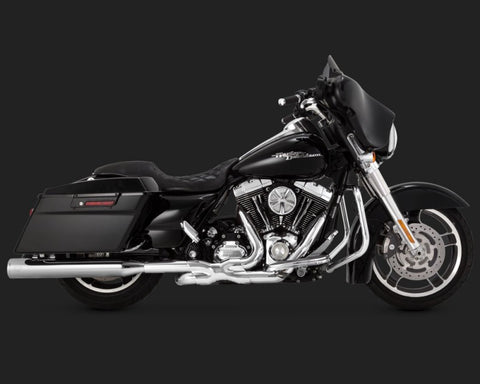 Vance and Hines Eliminator 400 for 2014-2016 Harley Davidson Touring-Chrome