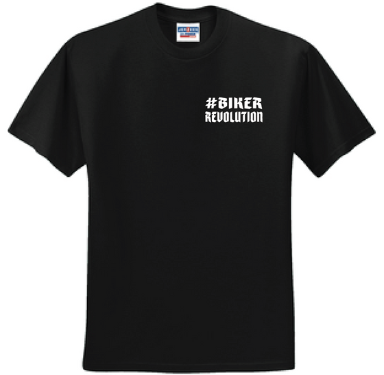 Support Short Sleeve T-Shirt-Men's-Black