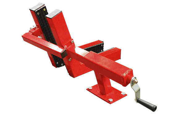 Titan Heavy Duty Rubber Padded Front Wheel Vise