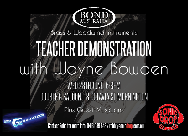 Bond Australia B&W Teacher Demo Night