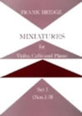 MINIATURES FOR PIANO TRIO SET 1