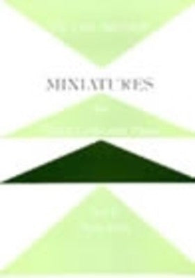 MINIATURES FOR PIANO TRIO SET 2
