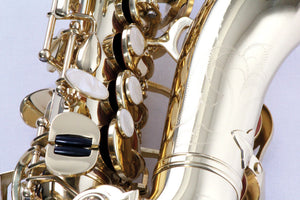 BOND CURVED SOPRANO SAXOPHONE lacquer finish,  with curved neck, high and low F# key.