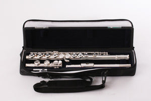 Bond Flute silver plated head, body and C foot, s