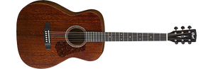 CORT L450C GRAND CONCERT WITH SOLID MAHOGANY TOP AND BACK. SATIN NATURAL