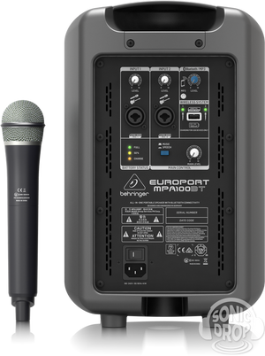 Behringer MPA100BT Portable PA System Europort
