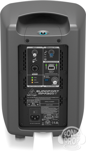 Behringer MPA30BT Portable PA System Europort