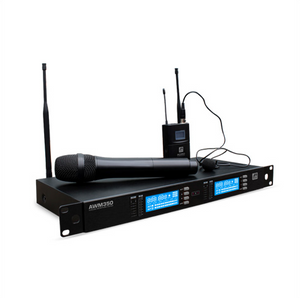 Ashton AWM350 DUAL WIRELESS MICROPHONE SYSTEM