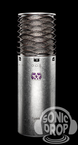 Aston Spirit Multi-Pattern Condenser Microphone. Made in UK