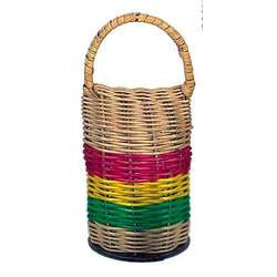 Toca Small Rattan Caxixi Shaker with handle