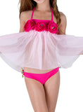 DANCING BALLERINA-Two Piece Swimsuit