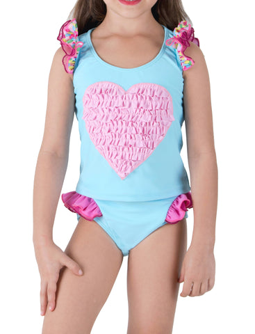 SWEETHEART BLUES-Two Piece Swimsuit