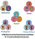 6 Sheets Puffy Dimensional Scrapbooking Party Favor Stickers + 18 FREE Scratch and Sniff Stickers - HORSES