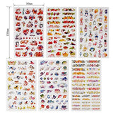 Planner Stickers Value Pack (Assorted 1877 PCS, 44 Sheets) - Decorative Sticker Collection for Scrapbooking, Calendars, Arts, Kids DIY Crafts, Album, Bullet Journals by Knaid