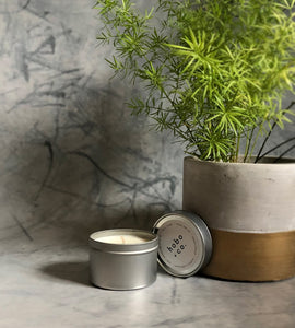 Beautifully scented candles from Hobo + Co