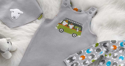 Herdy Camper Reversible Dungarees