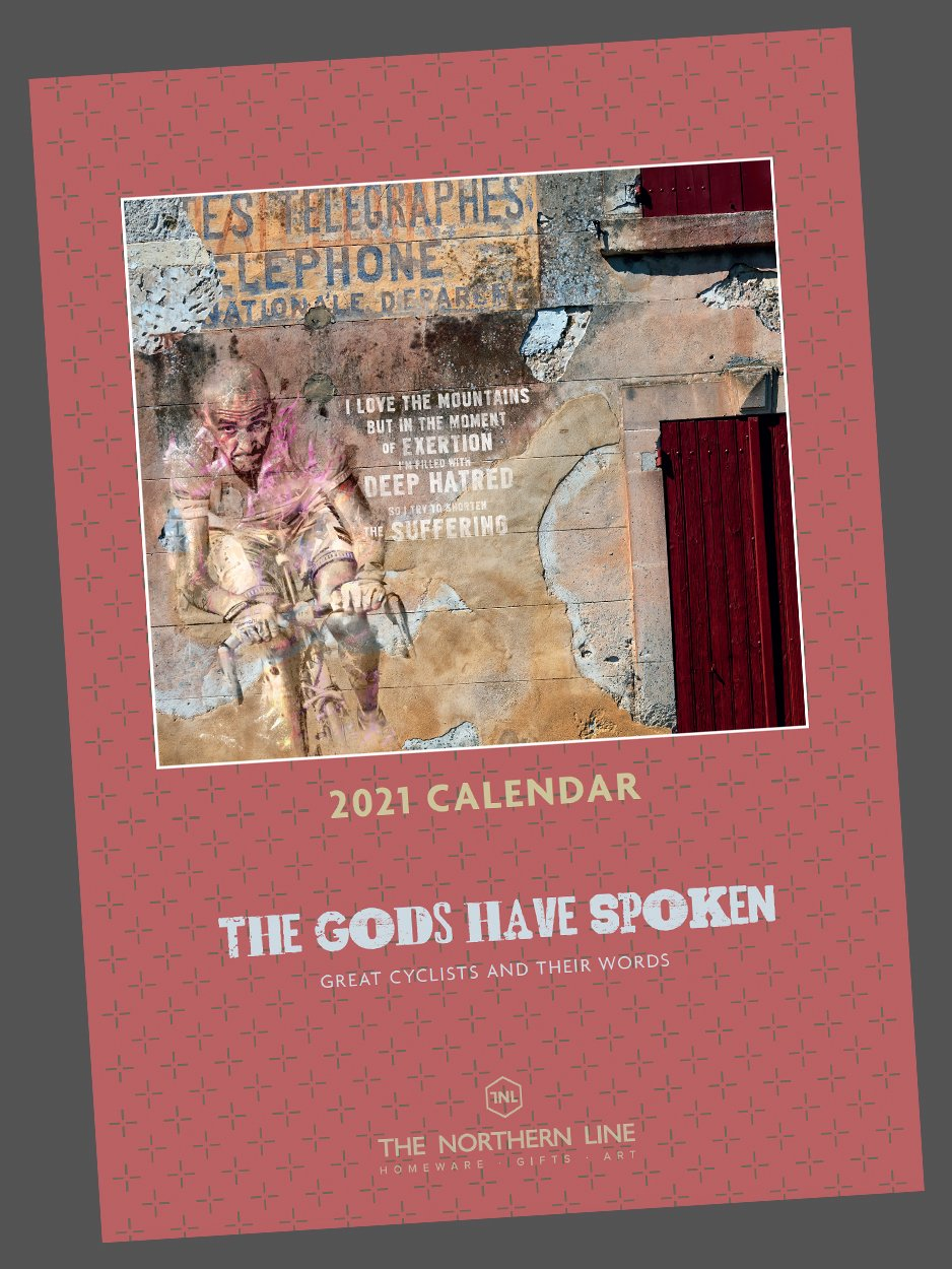 2021 Cycling Calendar - The Gods Have Spoken Posters The Northern Line