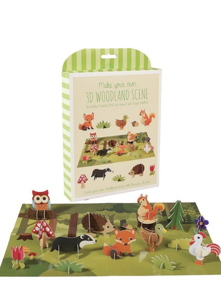 woodland scene activity set