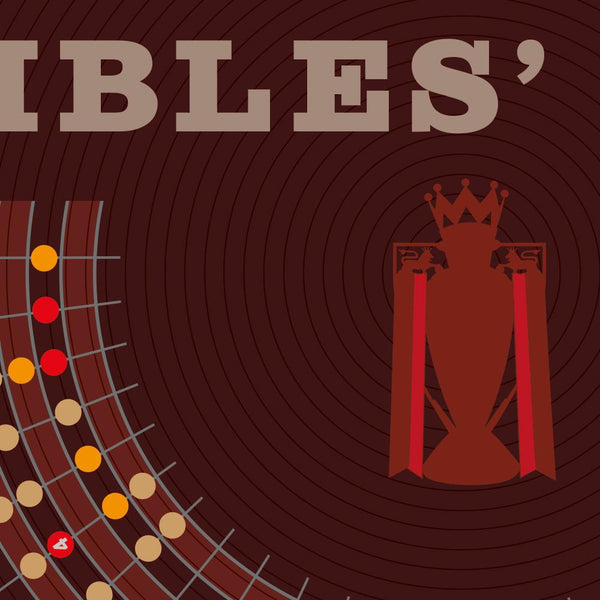 ARSENAL - The Invincibles. Poster of their 2003-4 season infographic style with all player and match stats.
