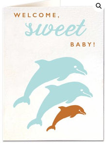 Baby Dolphin Card Baby The Northern Line