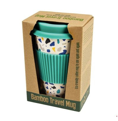 Bamboo Travel Mugs classic homeware The Northern Line Terrazzo