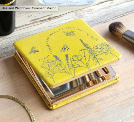Bee Design Compact Mirror classic homeware Lisa Angel