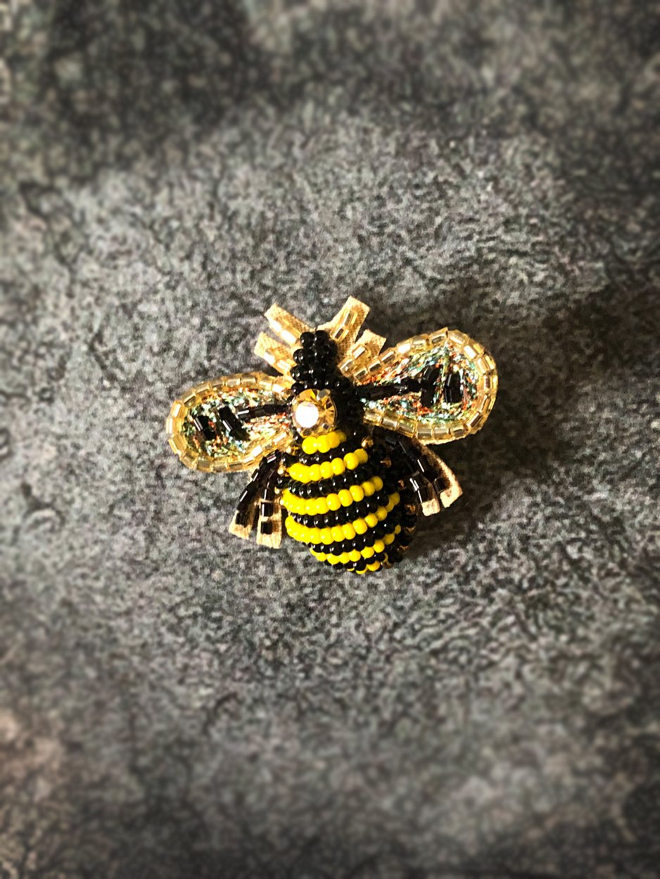 Bee Hair clip Gift TNL