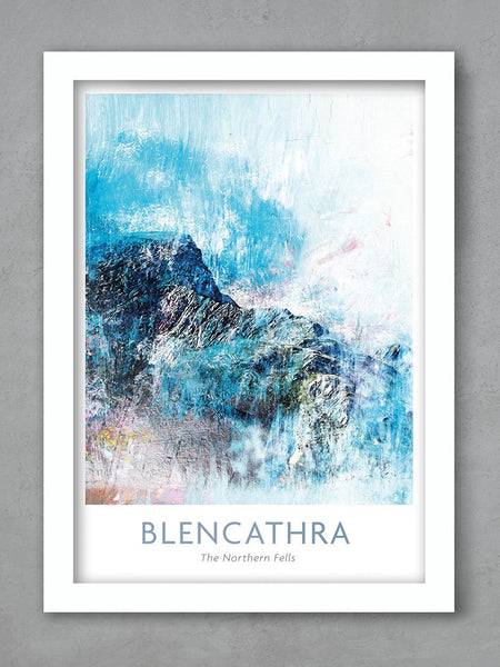 Blencathra and Sharp Edge Poster