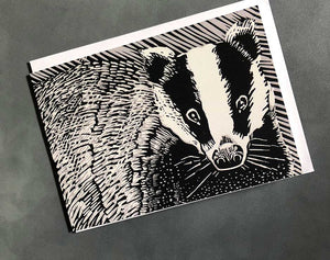 brock badger card