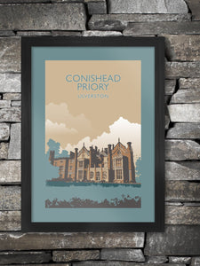 Conishead Priory Poster