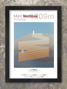 Cycling Climbs - Print Bundle Posters TNL