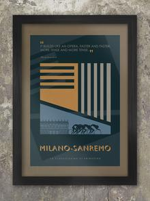 Cycling Monuments Quote Style - Print Bundle Posters TNL