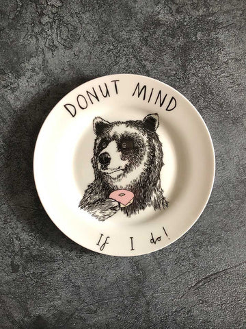 donut mind if i do side plate